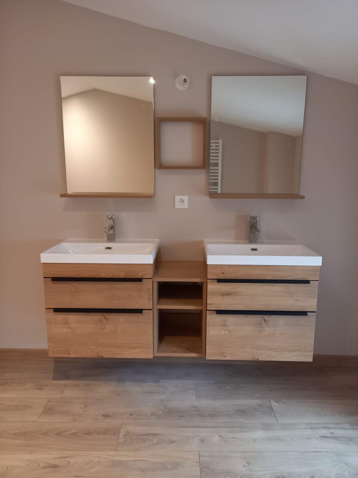 réalisation de sanitaire salle de bain à niort